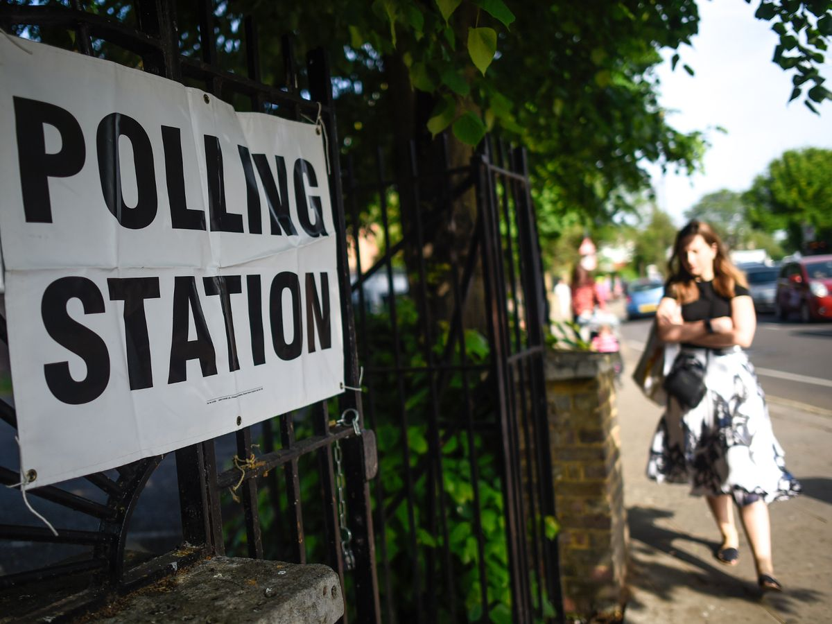 0 British Voters Go To The Polls In The European Elections